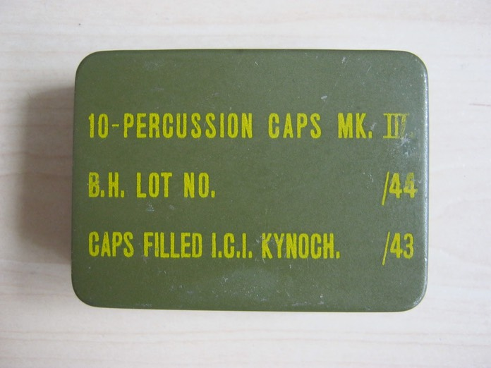 52. Percussion Caps